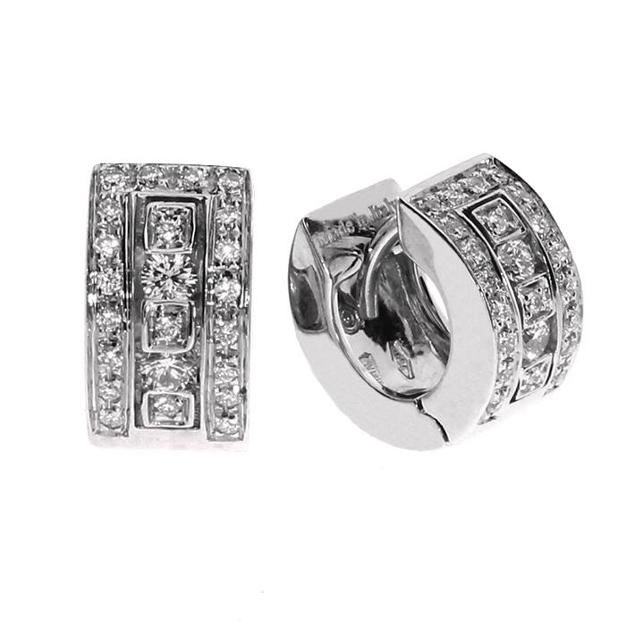 size 40 fb7e9 6719a Orecchini Belle epoque Damiani con diamanti 20031644 ...