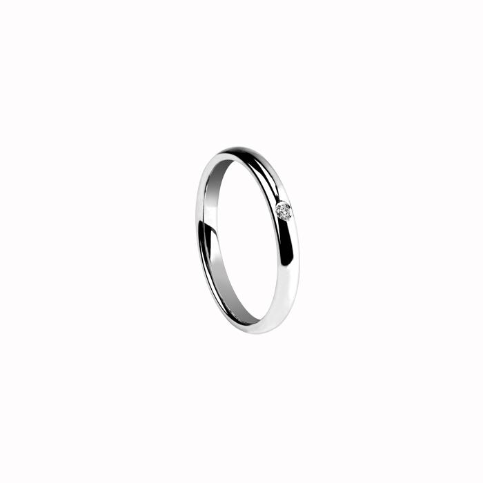 Idea Regalo Matrimonio - NOI2 FEDE NUZIALE DAMIANI IN ORO GIALLO ...