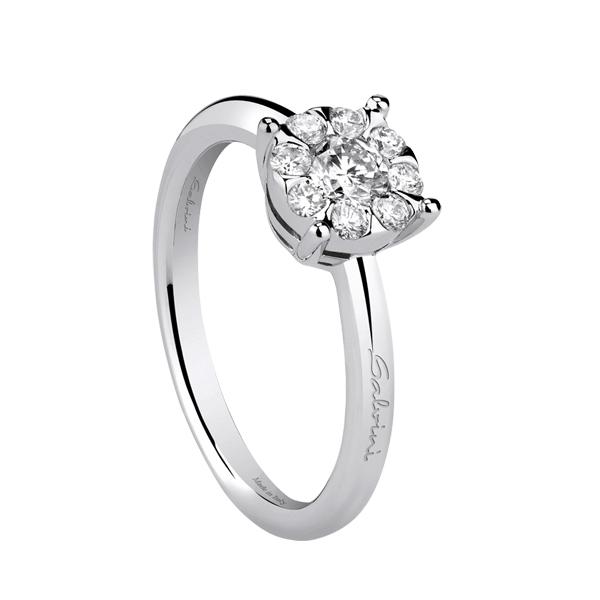 anello pandora con cuore oro