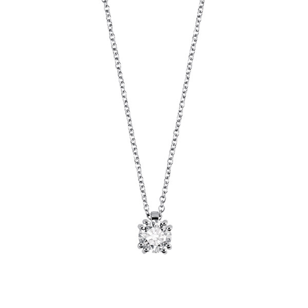 Collier punto luce con diamante 20060299