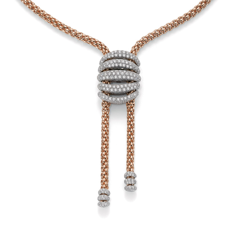 Collana Fope 665FR PAVE