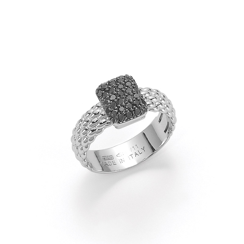 Anello Fope in oro AN561 PAVE1