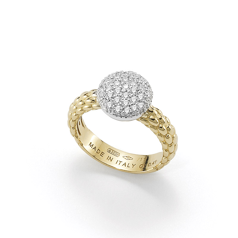 Fope anello in oro AN648 PAVE