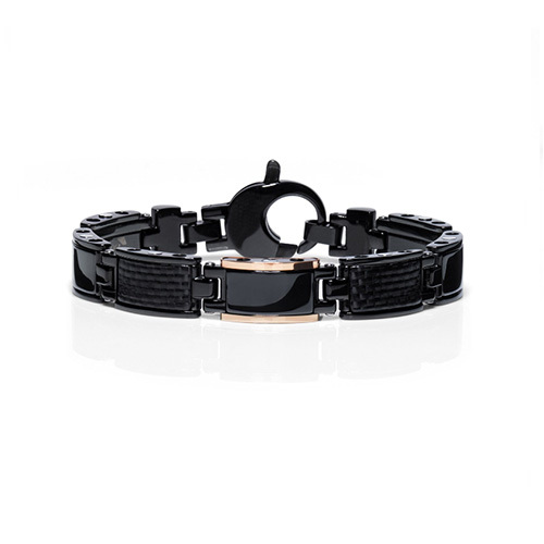 Bracciale Baraka' Black-one Collection BR24202