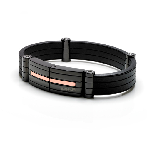 Bracciale Baraka' Black-one Collection BR24400