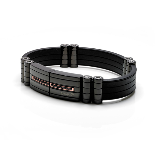 Bracciale Baraka' Black-one Collection BR24403