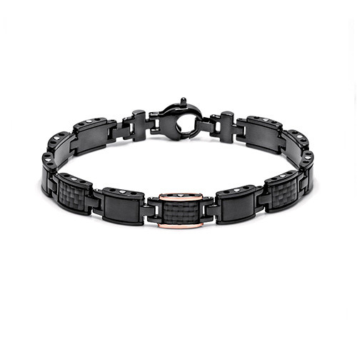 Bracciale Baraka' Black-one Collection BR24501