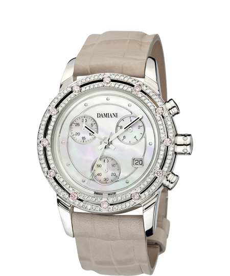 DAMIANI, OROLOGI DONNA IN ORO CON DIAMANTI