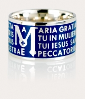 Anello TUUM Color Mater Blu Ref. TUAMLB90020