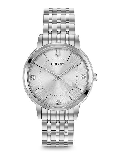 96P183 Women's Classic Diamond Watch Bulova
