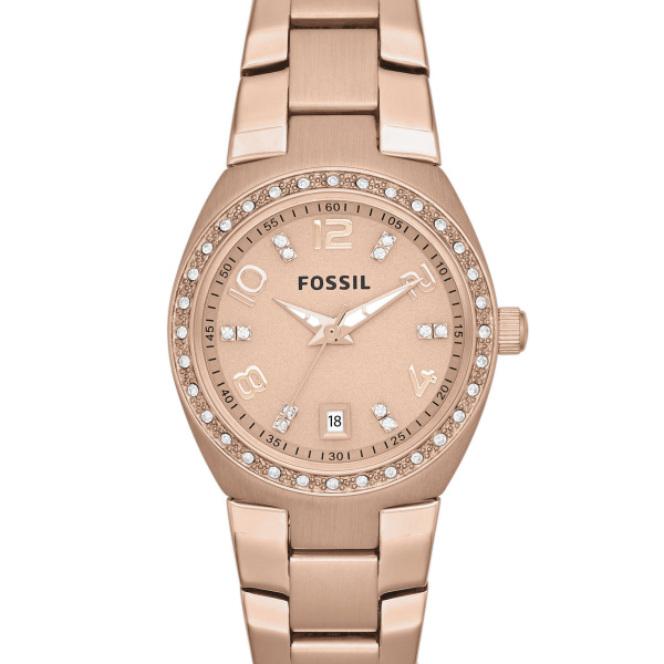 Orologio Fossil Colleague Rose Dial Rose Gold-tone AM4508