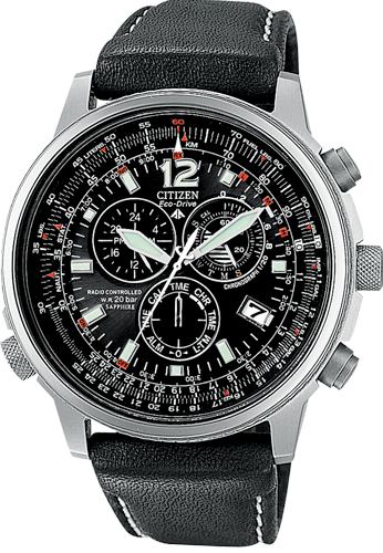Orologio Citizen Pilot Radiocontrollato Titanio AS4050-01E -2015