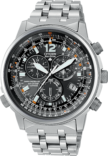 Orologio Citizen Pilot Radiocontrollato in Titanio AS4050-51E