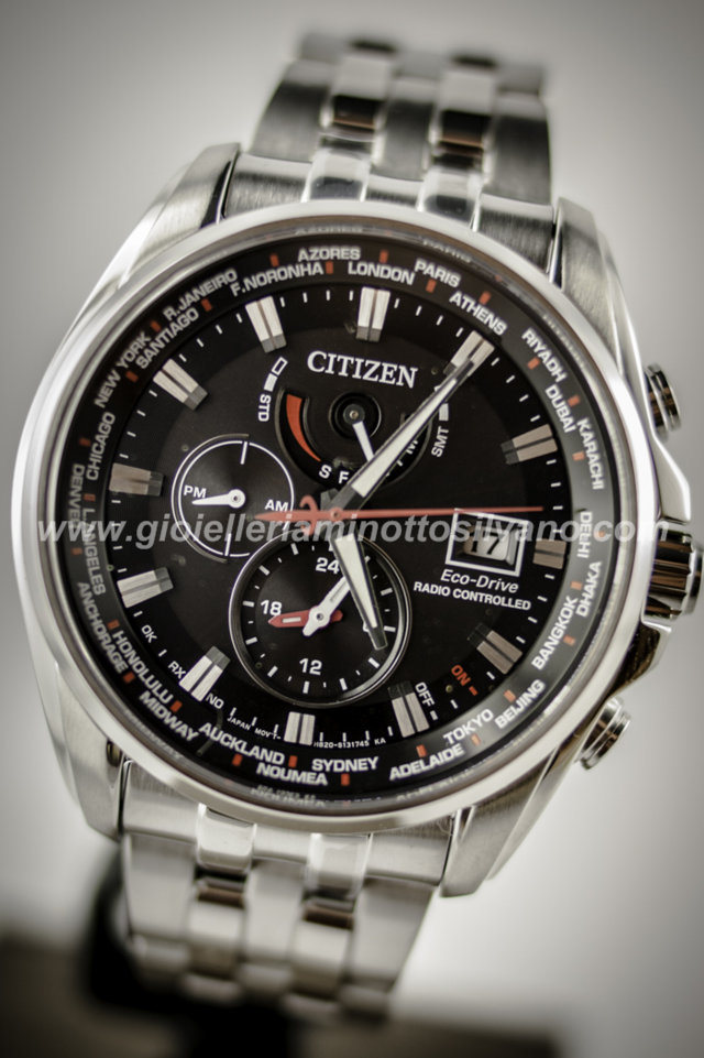 Orologio Citizen H820 Radiocontrollato AT9030-55E