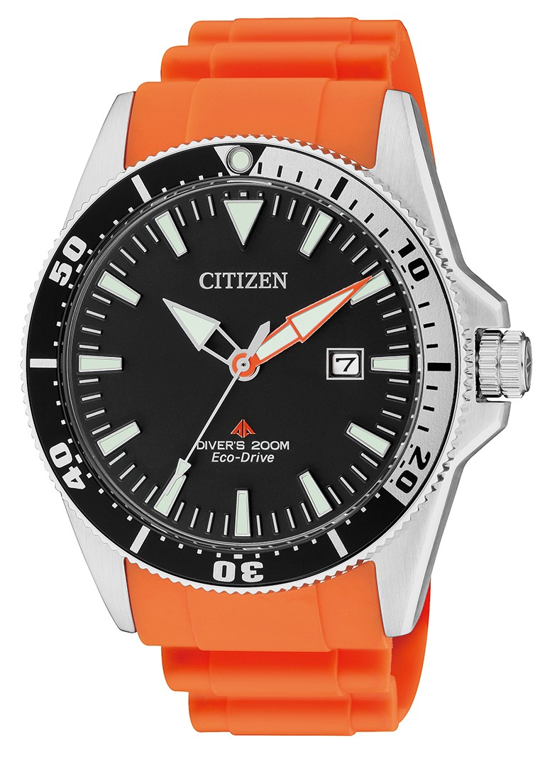 Orologio Citizen Divers Arancio 200 mt BN0100-18E