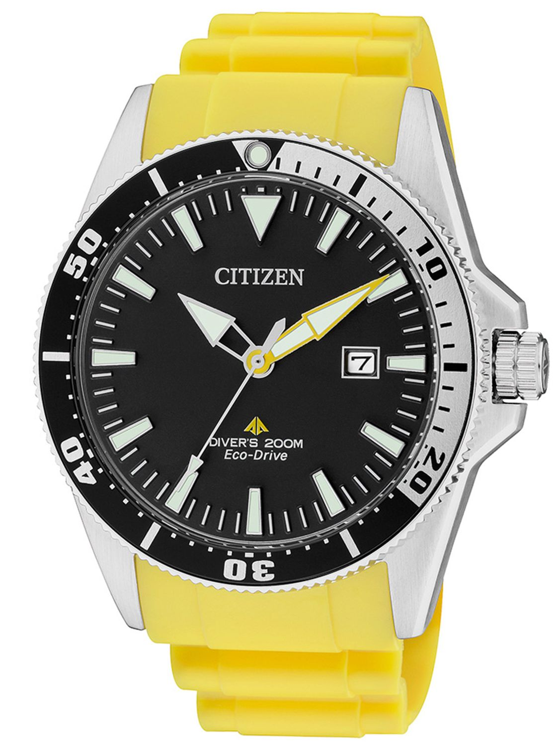 Orologio Citizen Divers Giallo 200 mt BN0100-26E