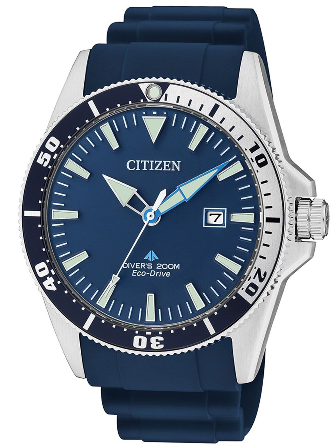 Orologio Citizen Divers Blue 200 mt BN0100-34L