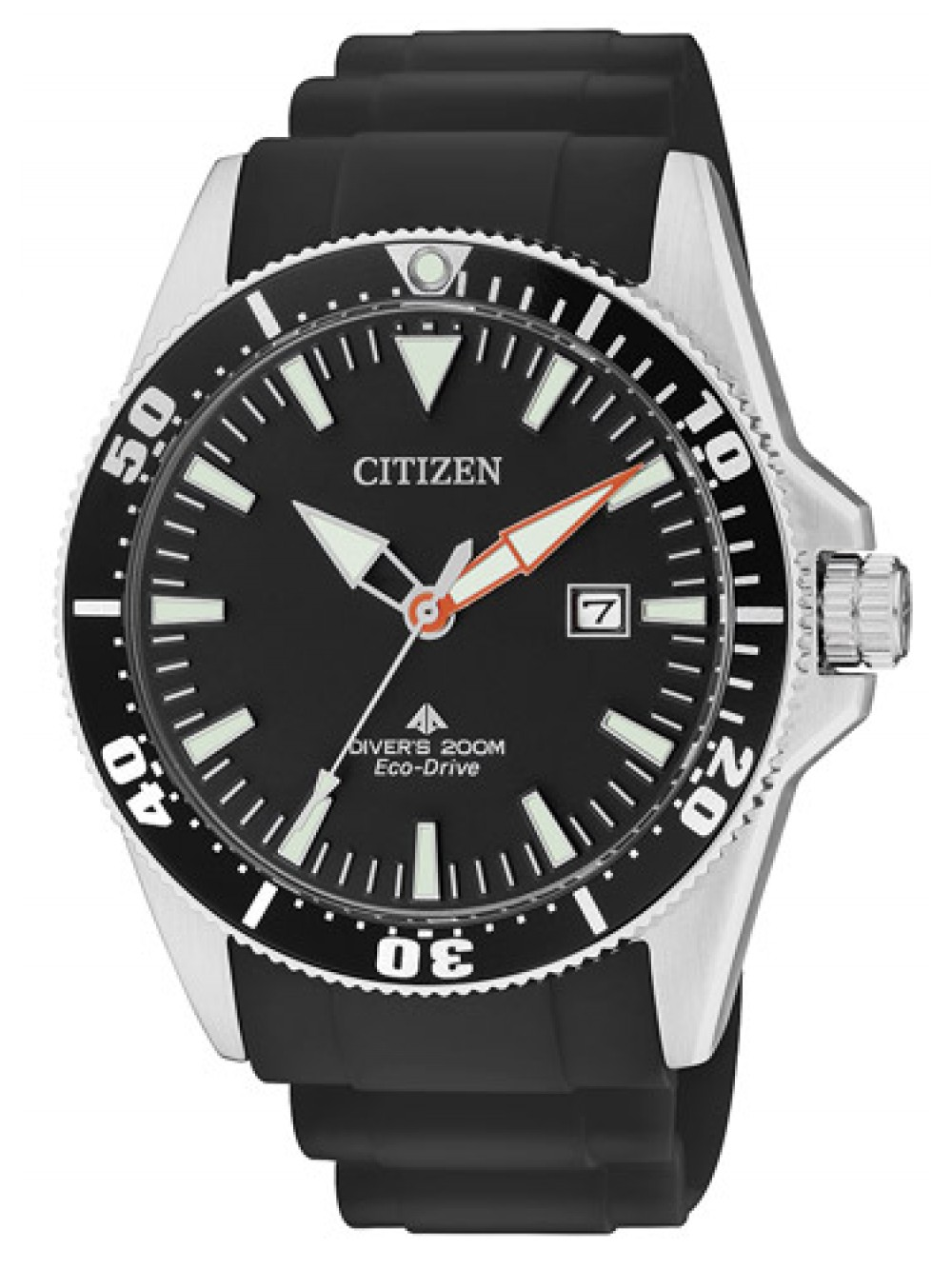Orologio Citizen Divers Nero 200 mt BN0100-42E