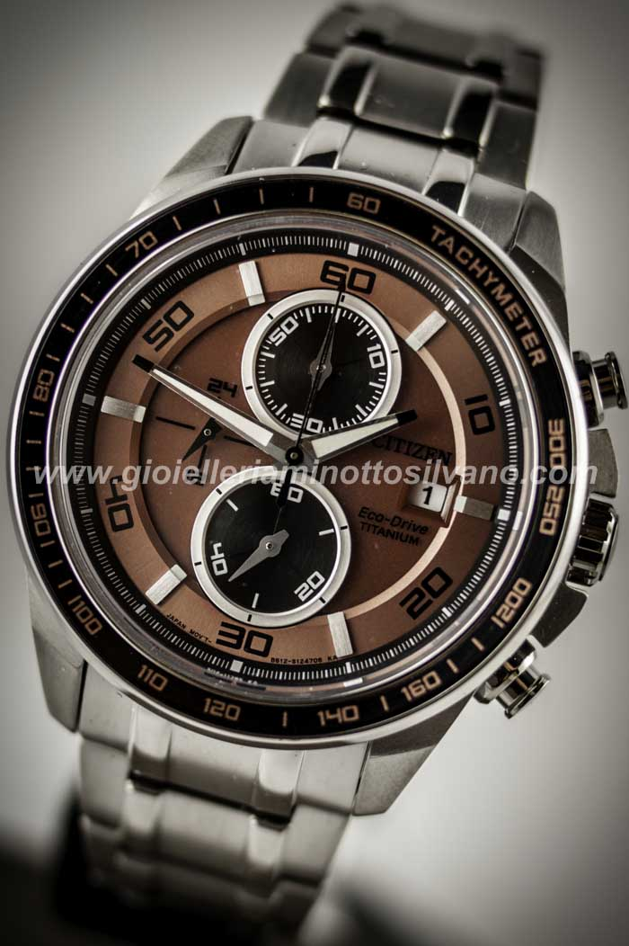Orologio Citizen Crono SuperTitanio 0345 CA0347-56W