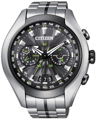 Orologio Citizen Satellite Wave Titanio 49.5 mm CC1054-56E
