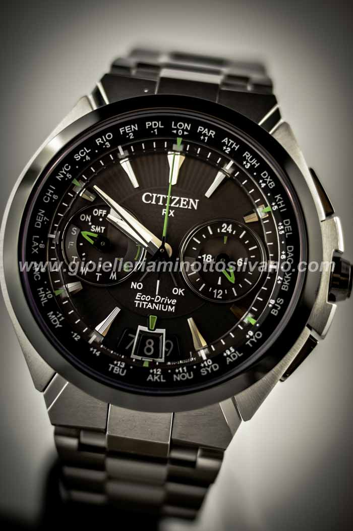 Orologio Citizen Satellite Wave H950 Titanio CC1084-55E