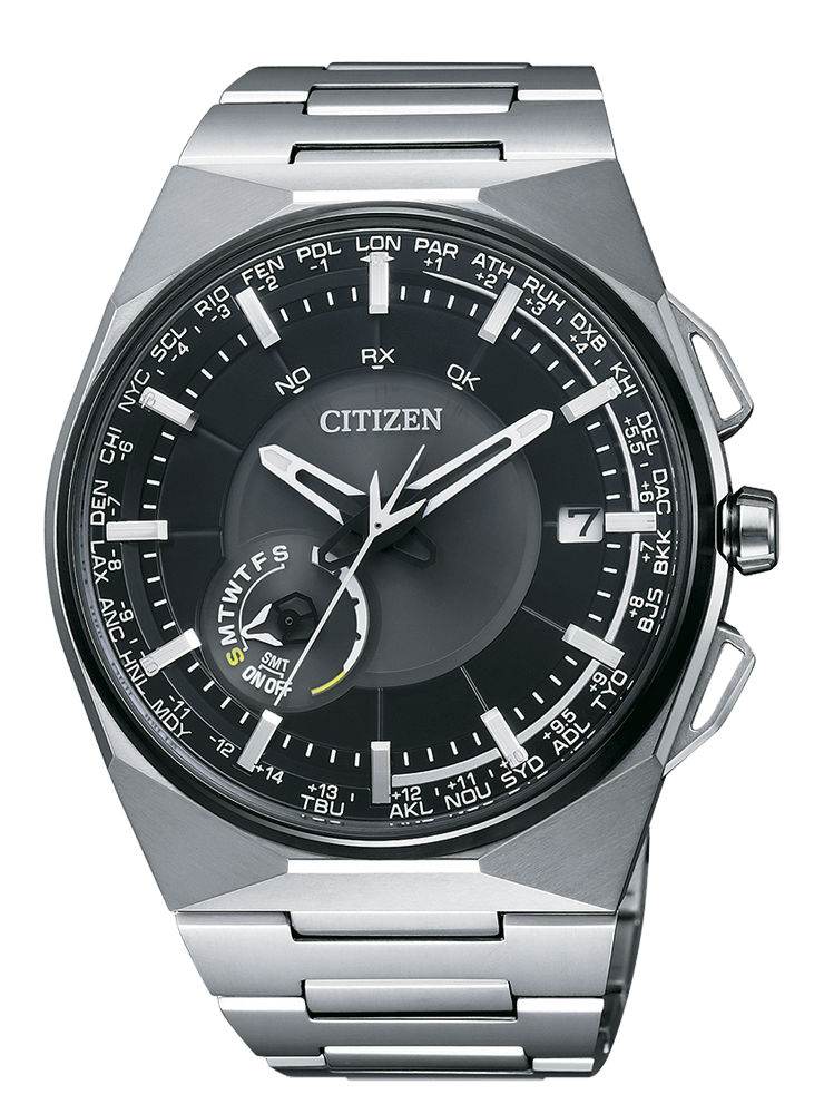Orologio CITIZEN F100 SuperTitanio SATELLITE WAVE CC2006-53E
