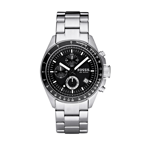 fossil orologio uomo acciaio