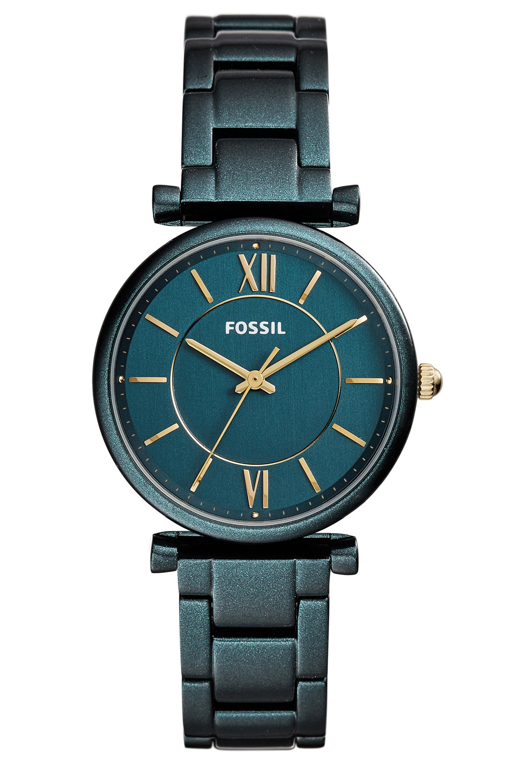 Orologio Fossil Carlie Three-Hand Teal Green Stainless ES4427