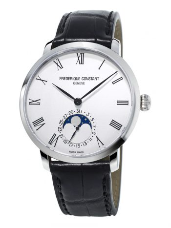 Orologio FREDERIQUE COSTANT Slimline Moonphase FC-705WR4S6