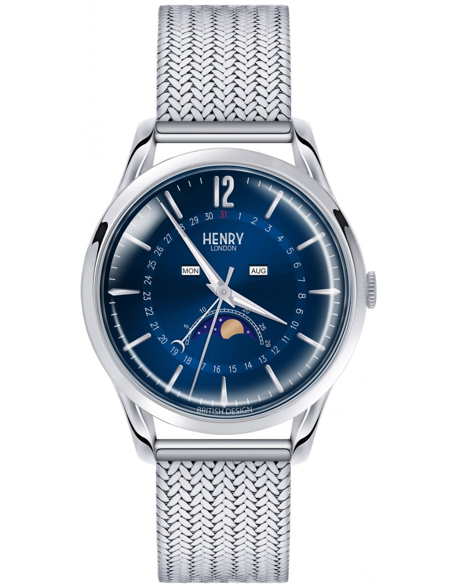 Orologio Henry London Unisex Knightsbridge Watch HL39-LM-0085