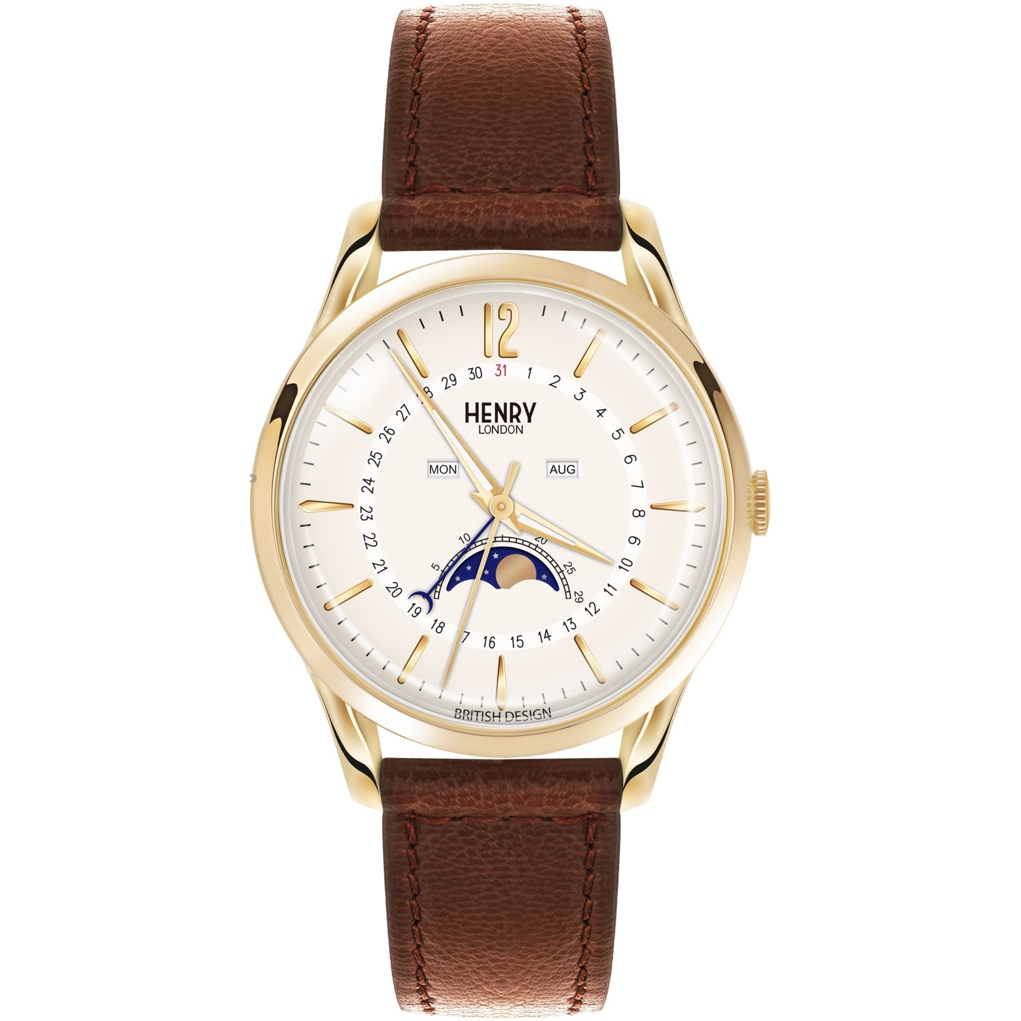 Orologio Henry London Men's Westminster Watch HL39-LS-0148