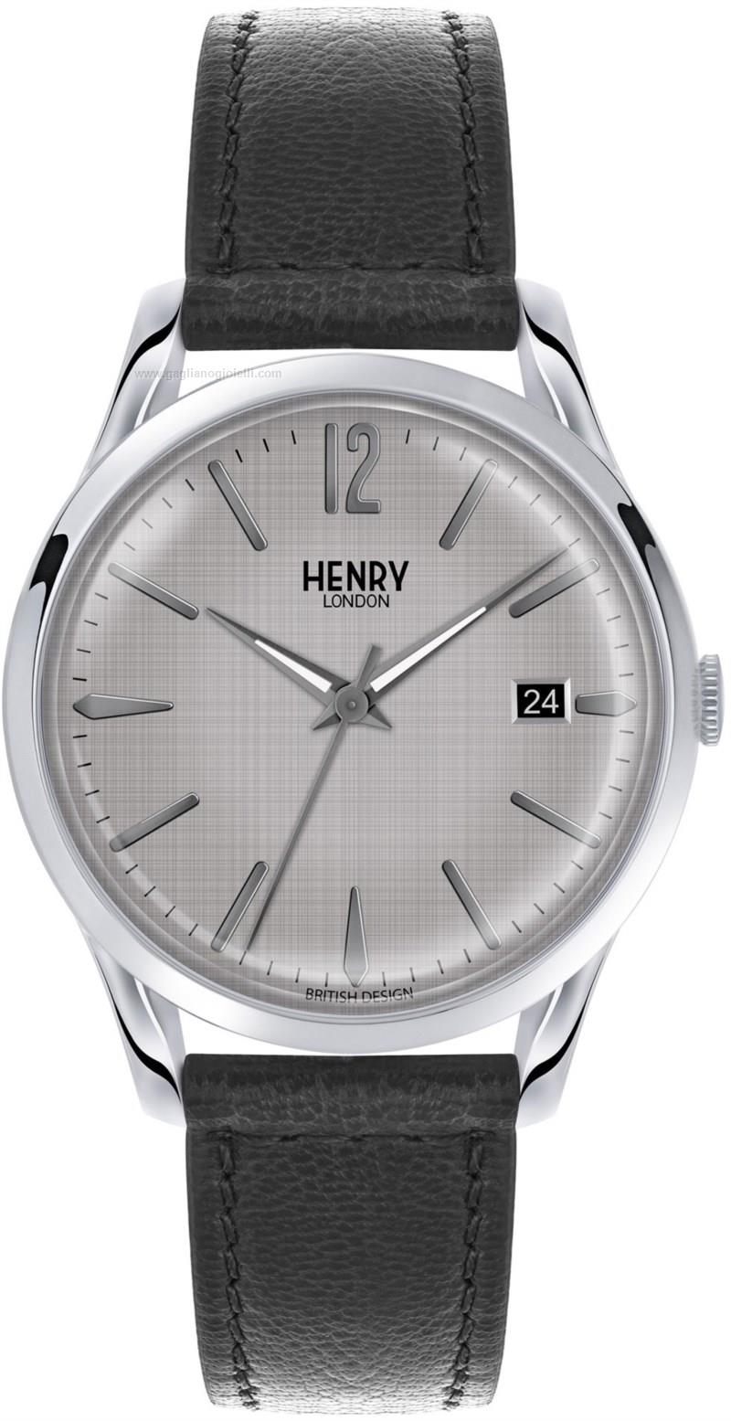 Orologio Quarzo Uomo Henry london piccadilly HL39-S-0075
