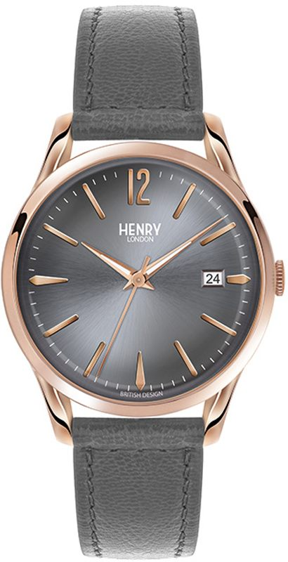 266ac19e09 Orologio Henry London Finchley HL39-S-0120