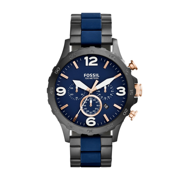 orologio uomo fossil acciaio
