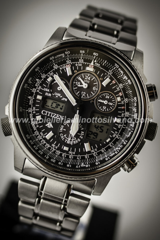 Orologio Citizen RC SuperPilot Titanio JY8020-52E