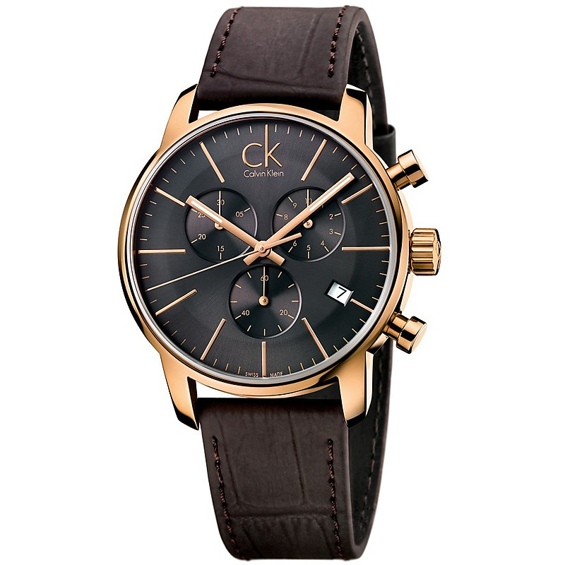 22f560c43a8b86 orologio cronografo uomo Calvin Klein City K2G276G3 [K2G276G3] - 289 ...
