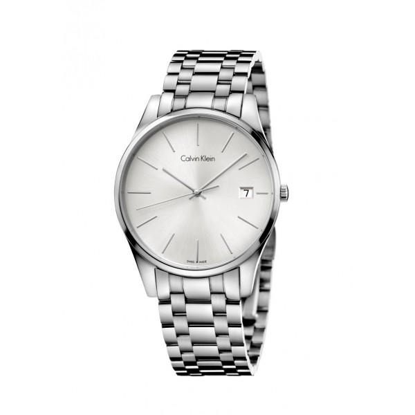 3764084ffe01b orologio solo tempo uomo Calvin Klein Formality K4N21146