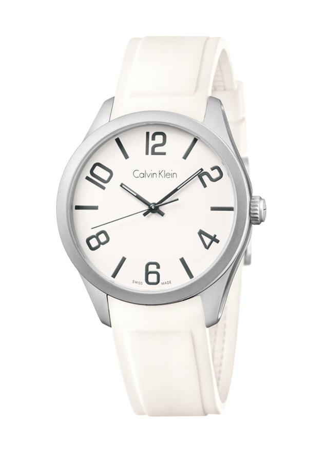 b793ab999e83c Orologi bianchi Calvin Klein, Orologio bianco CK K5E511K2