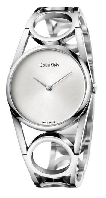 165588c48c266 Orologio donna Calvin Klein Round K5U2M146
