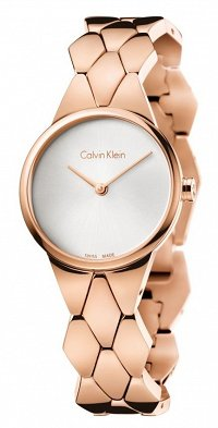 Orologio Calvin Klein Ladies' Snake Watch K6E23646