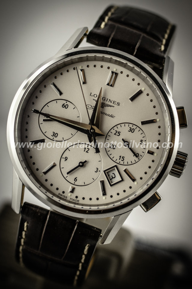 Orologio Longines Heritage Column Wheel 40mm - L27494722