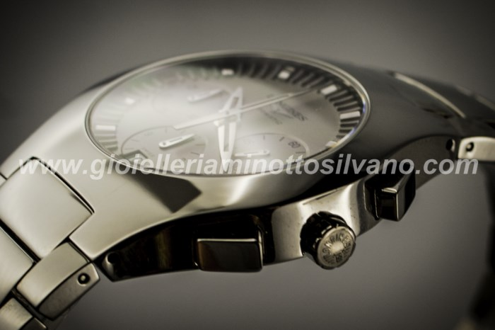 OROLOGIO LONGINES OPOSITION TITANIO 38 mm ^ L36221726
