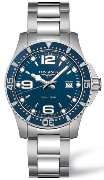 Orologio Longines Hydroconquest Quarzo 39mm - L36404966/L3730496