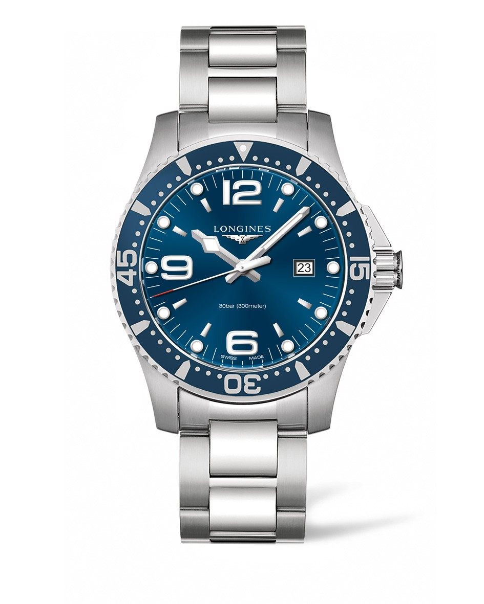 Orologio HydroConquest 44mm Blue Dial Diving Watch L38404966