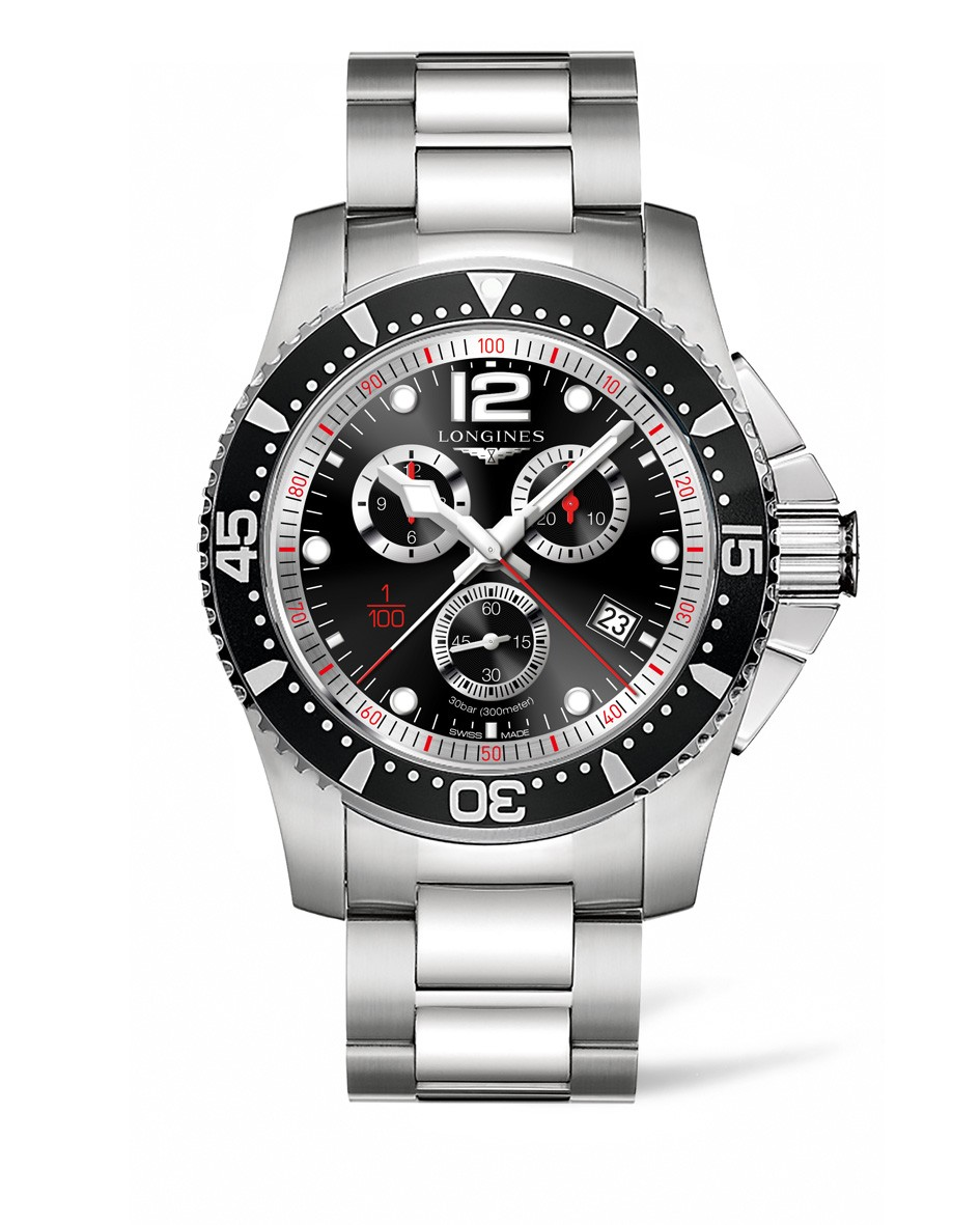 Orologio Longines HydroConquest 47mm Chronograph L38434566