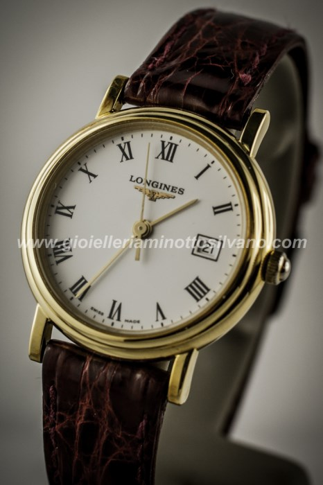 OROLOGIO LONGINES in oro 18 ct 27mm L44918947