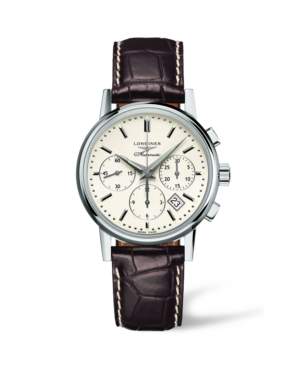 Orologio Longines Heritage Column Wheel 39MM - L27334722