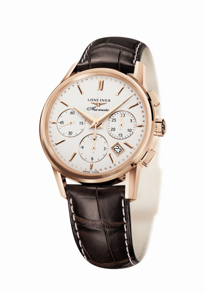 Orologio in Oro Longines Heritage Column Wheel - L27338722