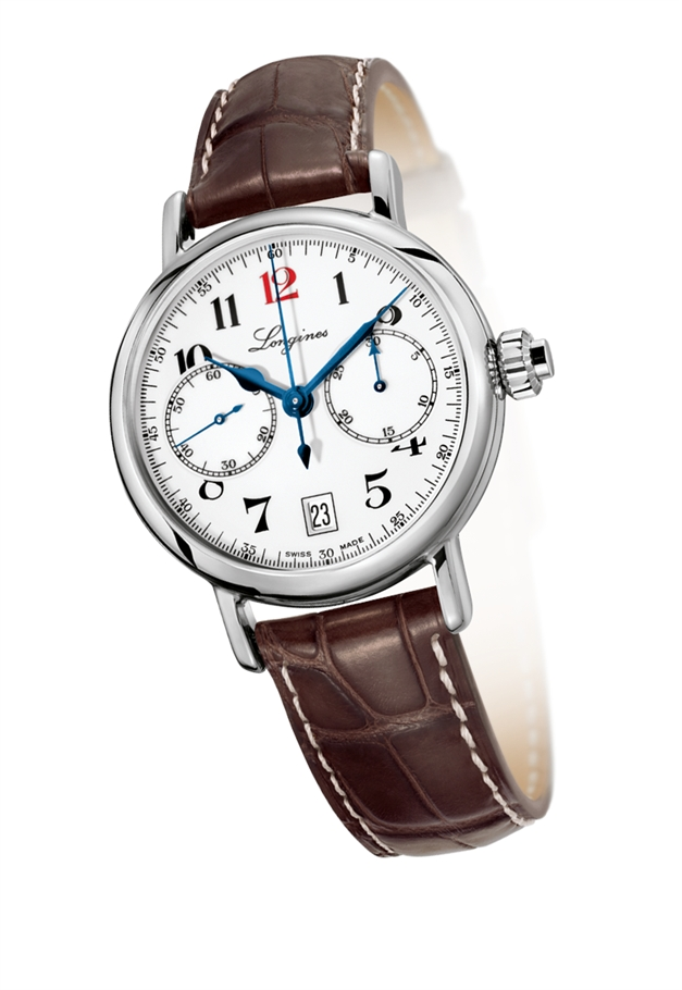 Orologio Longines Heritage Column Wheel Chrono - L27754233