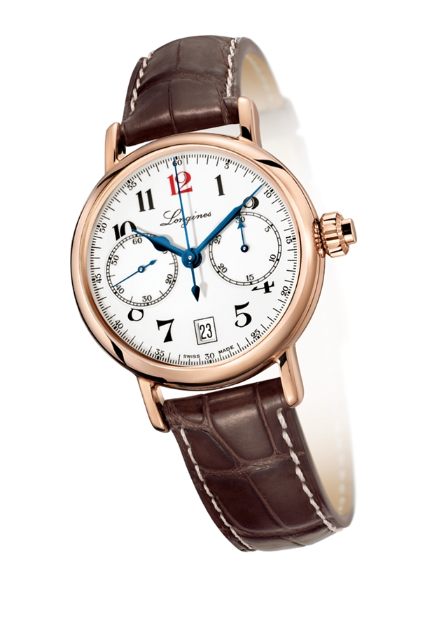 Orologio Longines Heritage Column Wheel Chrono - L27758233